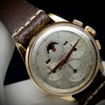 Universal Genève Compax 12324 Good Rose gold 37,5mm Manual winding