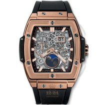 Hublot Red gold Automatic Silver 42mm new Spirit of Big Bang