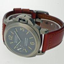 Panerai Chronometer 44mm Handaufzug 1999 gebraucht Special Editions Schwarz