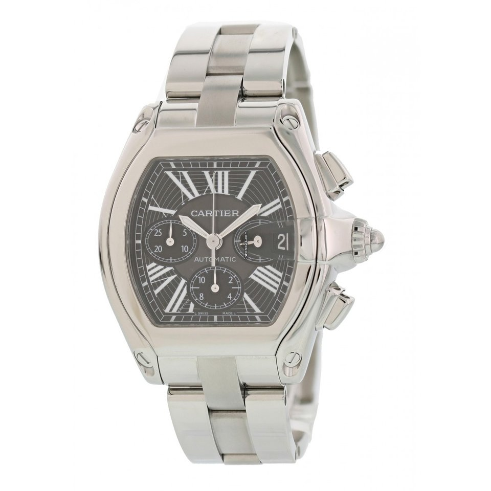 22f602332ca Cartier Roadster Watches for Sale - Find Great Prices on Chrono24