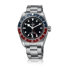 Tudor M79830RB-0001 Aço Black Bay GMT 41mm novo
