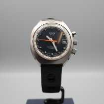 Oris Manual winding 1970 pre-owned Chronoris