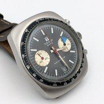 Tissot Chronographe 39mm Remontage manuel 1973 occasion Noir