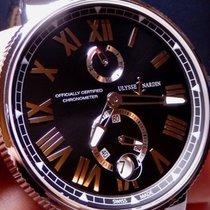 Ulysse Nardin Marine Chronometer Manufacture Steel 45mm Black United States of America, North Carolina, Winston Salem