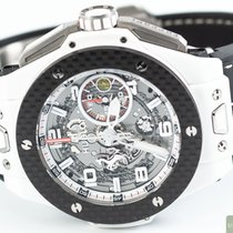 Hublot Keramik Automatik Transparent Arabisch 45,00mm gebraucht Big Bang Ferrari