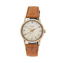 Helvetia Yellow gold 33mm Manual winding pre-owned