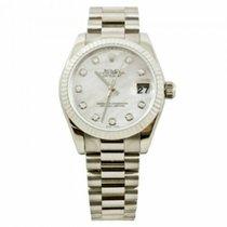 Rolex Datejust 178279 Velmi dobré Bílé zlato 26mm Automatika