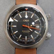 Oris Chronoris Zeljezo 39mm Crn Bez brojeva