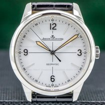 Jaeger-LeCoultre Geophysic 1958 pre-owned 38.5mm White Leather