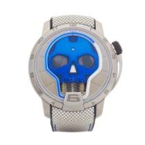 HYT Skull Titanium 51mm Blue