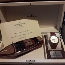 Frederique Constant Runabout Chronograph Steel 43mm Silver Arabic numerals