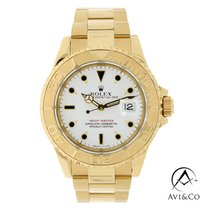 Rolex Yacht-Master 40 Yellow gold 40mm White No numerals