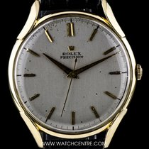 Rolex Oyster Precision Yellow gold 36mm Silver