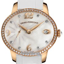 Girard Perregaux Cat's Eye Rose gold 35.4mm Mother of pearl United States of America, New York, Airmont