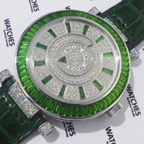 Franck Muller Double Mystery Emerald White Gold - DM 42 BAG CD