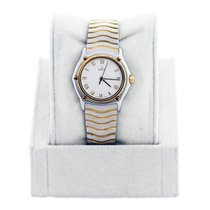 Ebel Wave Stainless Steel and 18K  Gold Ladies Watch