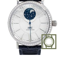 IWC Portofino Automatic Mother Of Pearl Moonphase Diamond NEW