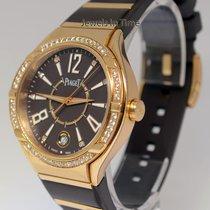 Piaget Polo FortyFive Ladies 18k Rose Gold & Diamond Watch...
