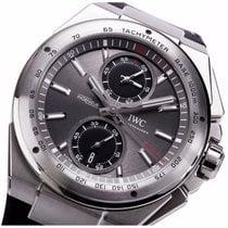 IWC Ingenieur Racer Chronograph iw378507 Stainless Steel Grey NEW