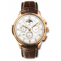 IWC Portuguese Grande Complication Rose gold 45mm Silver United States of America, California, Beverly Hills