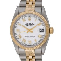 Rolex : Datejust Midsize 31mm :  68273 :  18k Gold & Stainless...