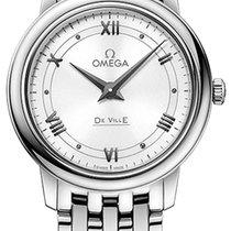 Omega De Ville Prestige Acero 27.4mm Blanco