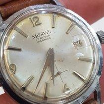 Ultra Rare Vintage Monvis Cal Peseux 336N diameter case 35.2 1960 pre-owned