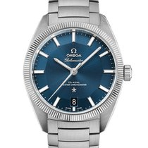 Omega Globemaster Steel 39mm Blue No numerals United Kingdom, London