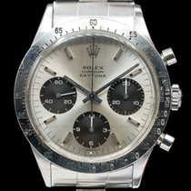 Rolex 6239 Vintage Daytona Silver Panda c. 1967 (29322)
