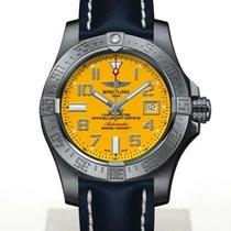 Breitling Avenger II Seawolf Steel 45mm Yellow