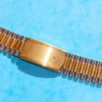Zenith RARE NSA 70'S  BICOLOUR BRACELET 18mm ZENITH, LONGINES,HEUER 1970 usados