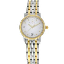 Maurice Lacroix Les Classiques Gold/Steel 25mm White United States of America, New York, New York