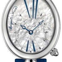 Breguet new Tempered blue hands Sapphire crystal