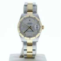 Rolex Silver Automatic Silver 31mm pre-owned Lady-Datejust