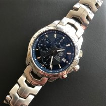 TAG Heuer Steel Automatic pre-owned Link Calibre 16