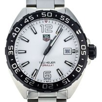 TAG Heuer Formula 1 Quartz pre-owned 41mm White Date Steel