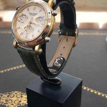 梭曼 金/鋼 37mm 石英 Revue Thommen Greenmark Golf Uhr REF 6423001 新的