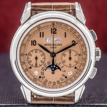 Patek Philippe Perpetual Calendar Chronograph Platinum 41mm Arabic numerals United States of America, Massachusetts, Boston