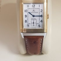 Jaeger-LeCoultre Reverso Grande Taille Acero y oro 26mm Blanco Árabes