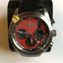 Tudor Fastrider Chrono Steel 42mm Red Arabic numerals