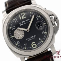 Panerai Luminor Marina Automatic Otel 44mm Gri Arabic