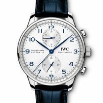 IWC Portuguese Chronograph Steel 40.9mm Blue United States of America, California, Los Angeles