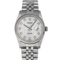 Rolex 16234 Steel 2002 Datejust 36mm pre-owned United States of America, Maryland, Baltimore, MD