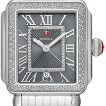 米歇尔 Deco MICHELE DECO MADISON DIAMOND SHADOW GREY DIAL MWW06T000181 全新