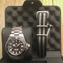 Steinhart Ocean 1 Steel 39mm Black No numerals