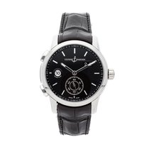 Ulysse Nardin Dual Time Steel 42mm Black No numerals United States of America, Pennsylvania, Bala Cynwyd