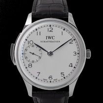 IWC Portuguese Minute Repeater Platine 44mm Argent
