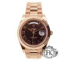 Rolex Rose gold 41mm Automatic 218235 pre-owned United Kingdom, London
