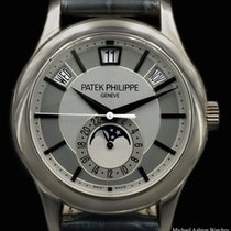 Patek Philippe Annual Calendar pre-owned Leather