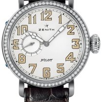 Zenith Pilot Type 20 Lady new 2019 Automatic Watch with original box and original papers 16.1930.681/31.C725